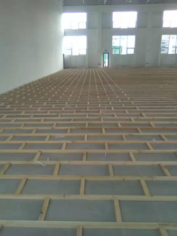 20厚实木运动地板安装
