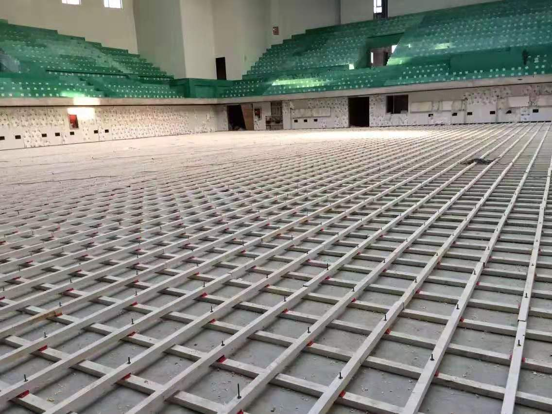 B级实木运动地板维修