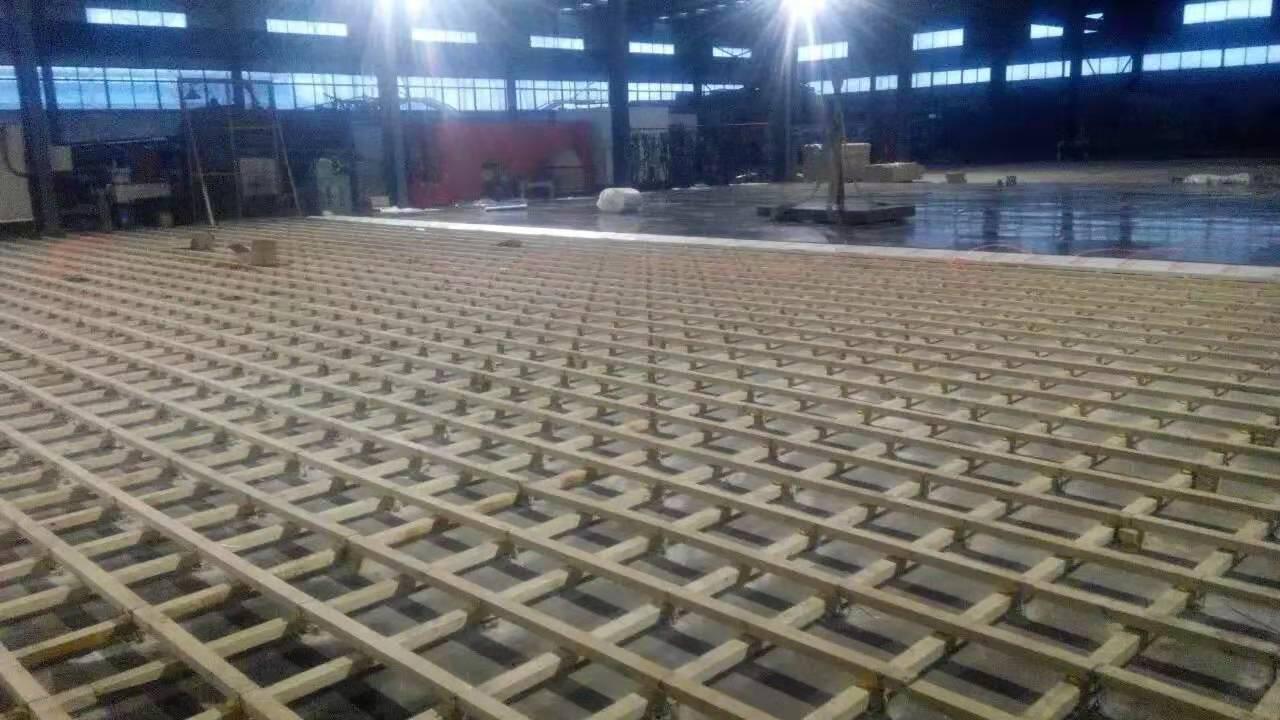 长沙柞木实木运动地板