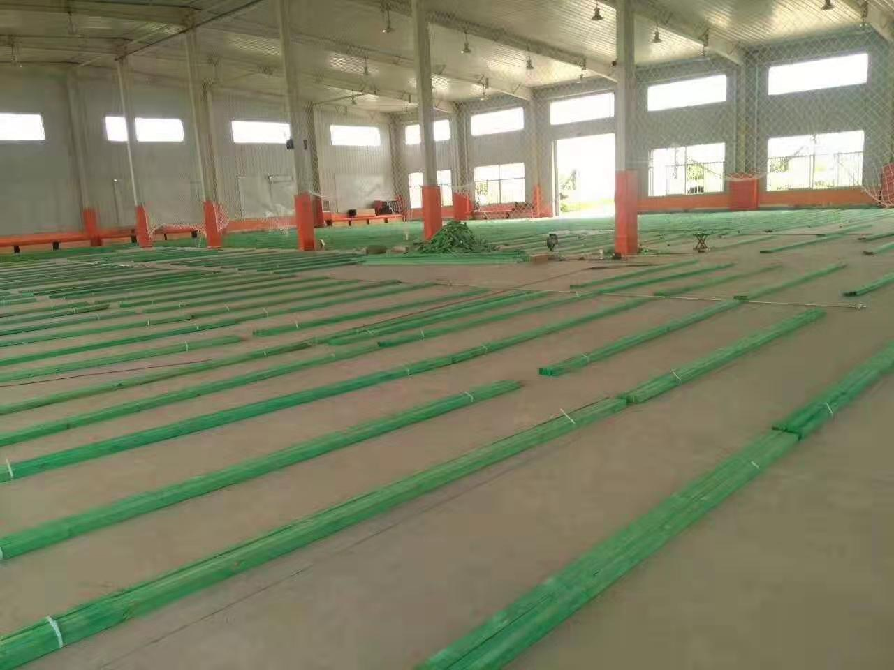 硬木实木运动地板定制