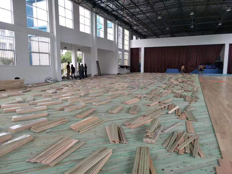 B级实木运动地板工厂
