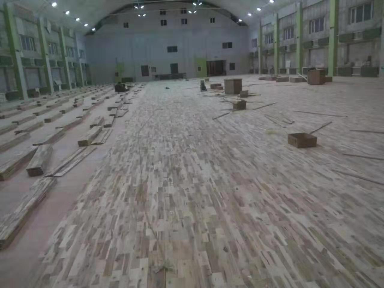 枫木实木运动地板厂家