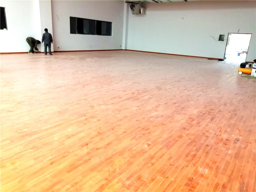 济南体育木地板