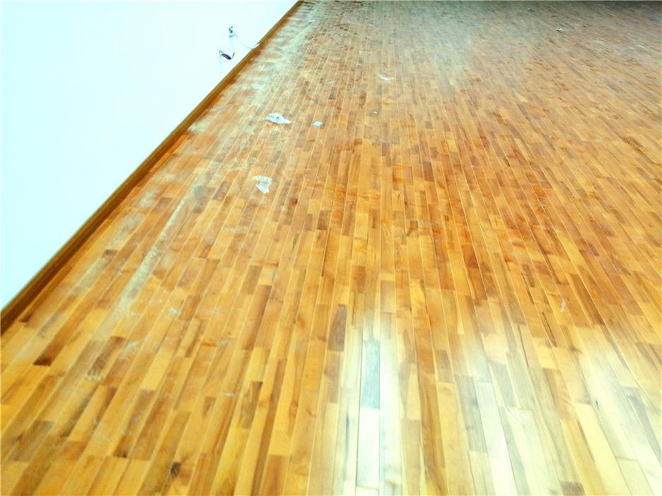 遵义体育木地板规格