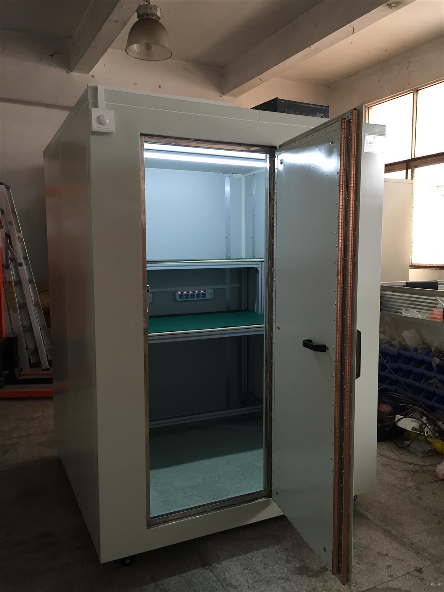 深圳市生产加工屏蔽房屏蔽暗室高频屏蔽房厂家