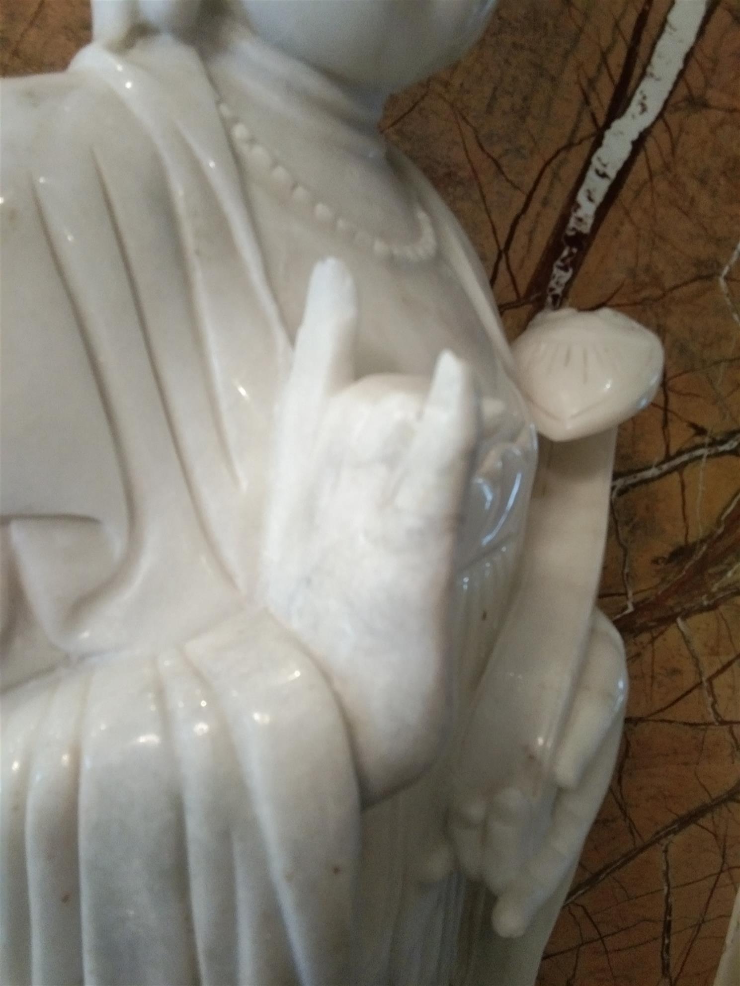 宿迁破损陶瓷佛像修复 陶瓷佛像无痕修复 专注于瓷器修补