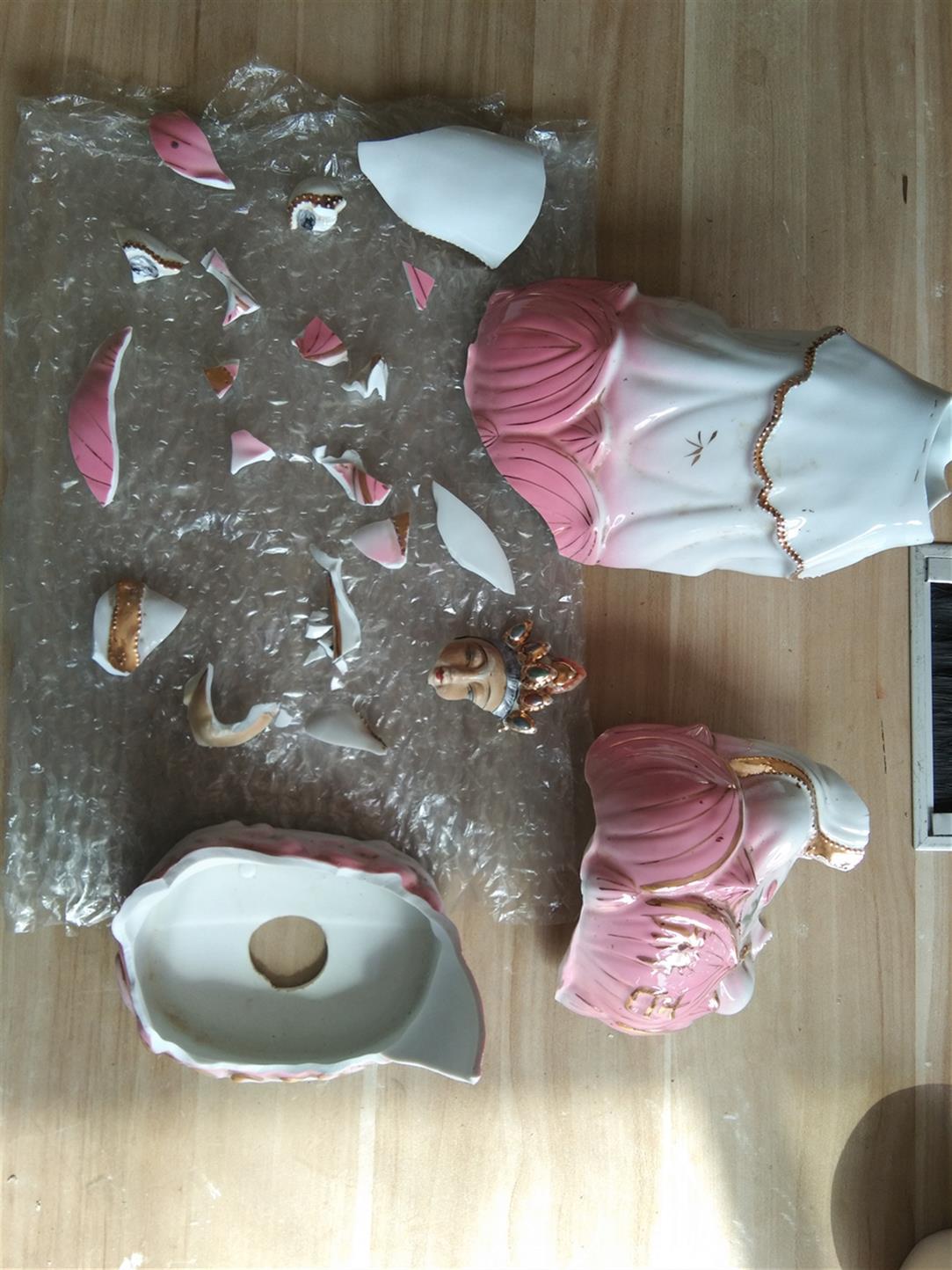 揭阳陶瓷佛像修复费用 陶瓷佛像无痕修复 提供专业方案可上门服务