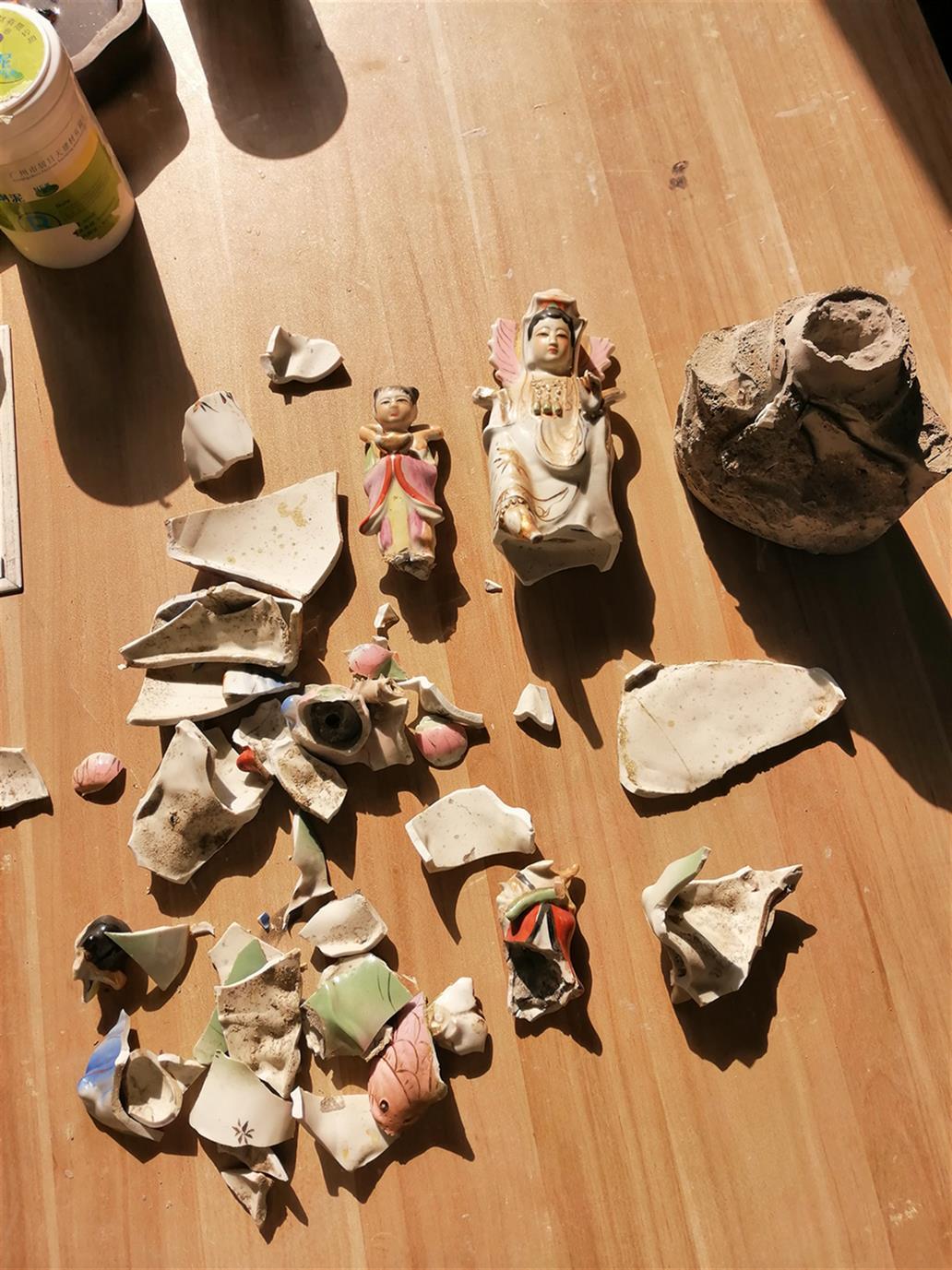 江西陶瓷佛像修复电话 陶瓷佛像无痕修复 专业从事