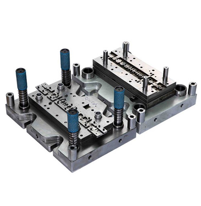 Precision connector terminal stamping die Tooling type: Stage die