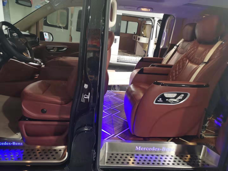 南汇奔驰R320内饰改装航空座椅木地板