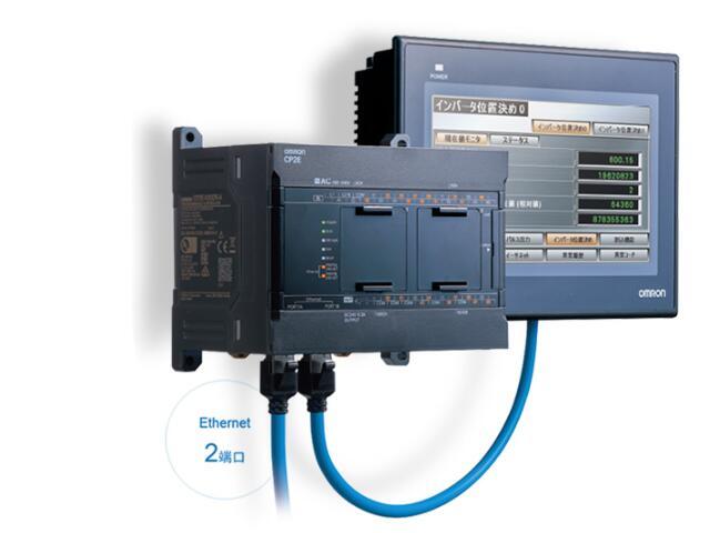 青島歐姆龍總代理CP1E-E60SDR-A PLC