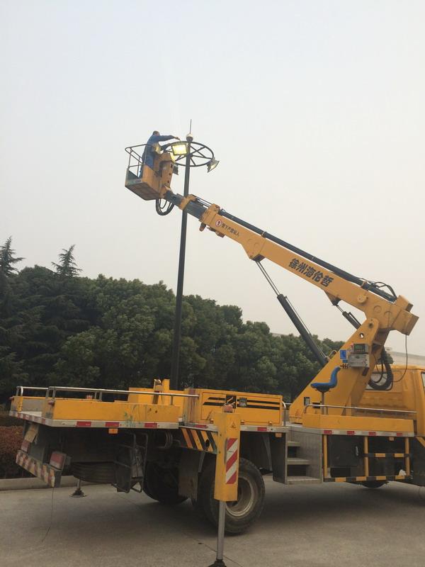 镇江18米高空作业车出租公司