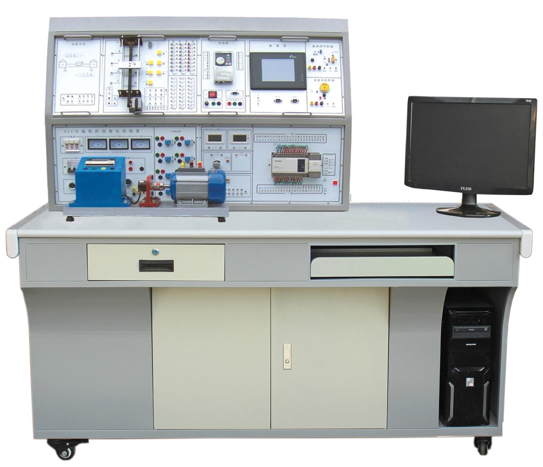 西安通用自动化实训设备价格 透明液压PLC实训装置 拆装