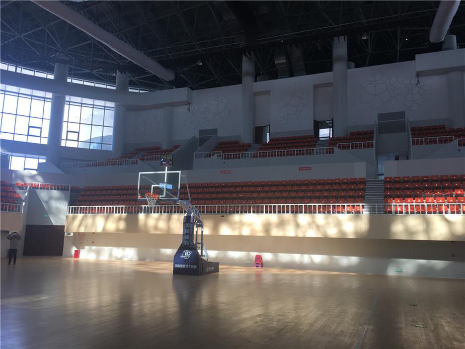 东营枫木篮球馆木地板