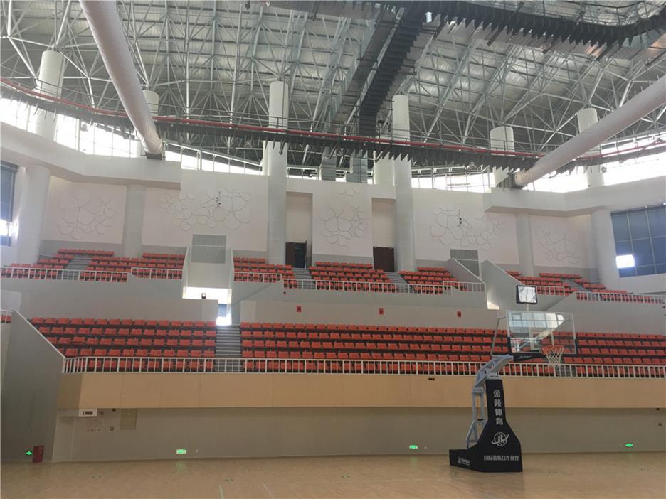 佛山枫木篮球馆木地板