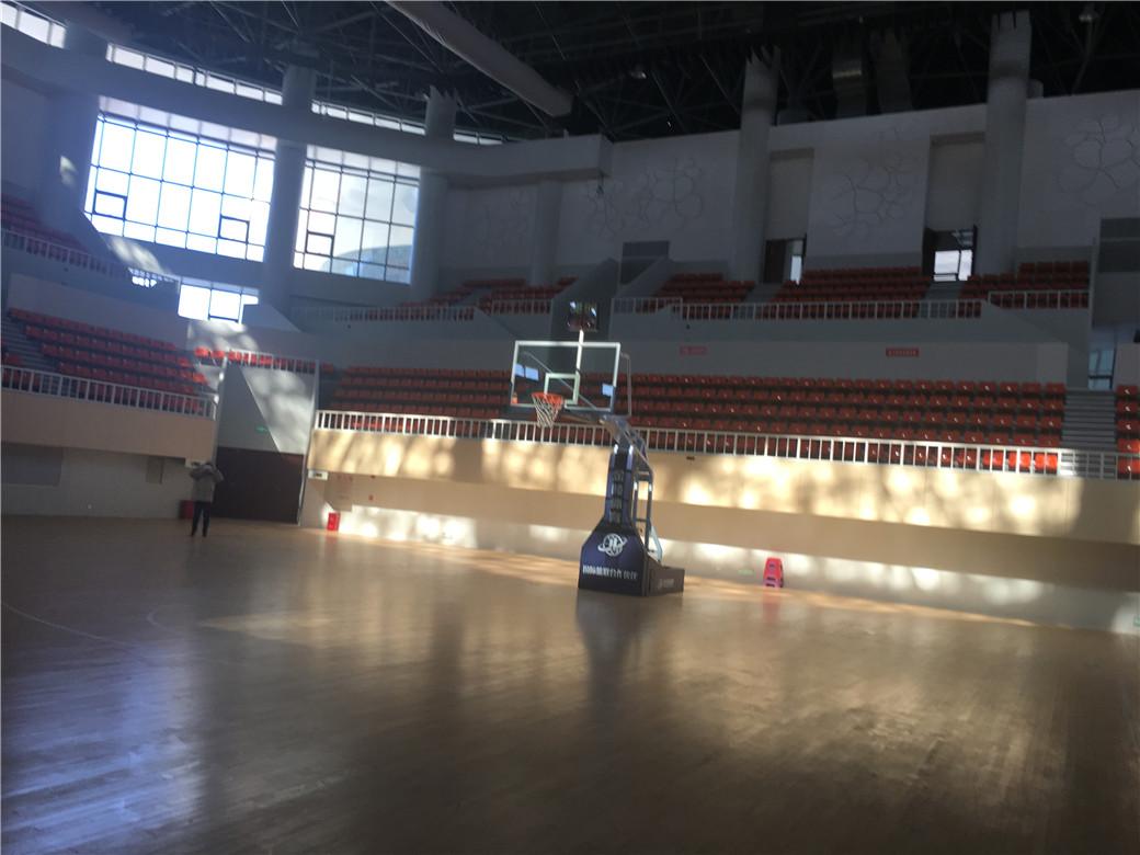 河南篮球馆木地板