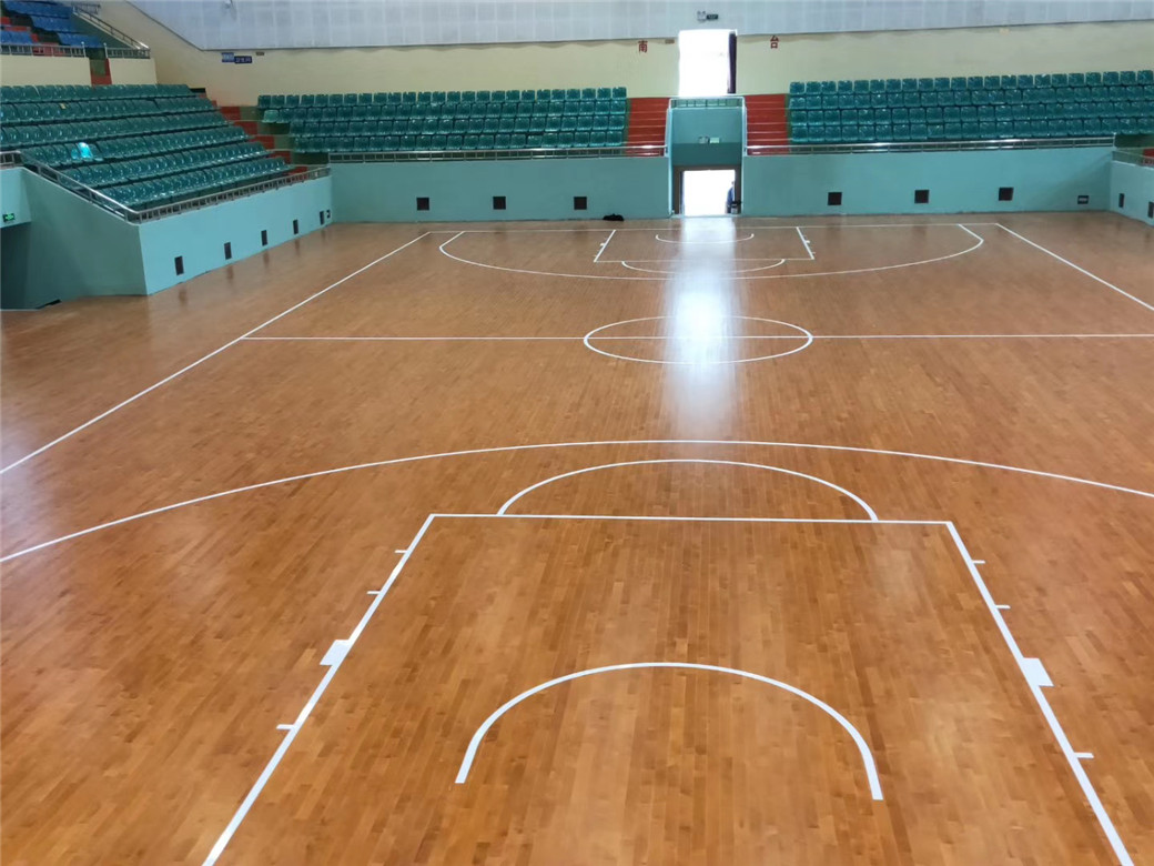 铜仁篮球馆木地板定制