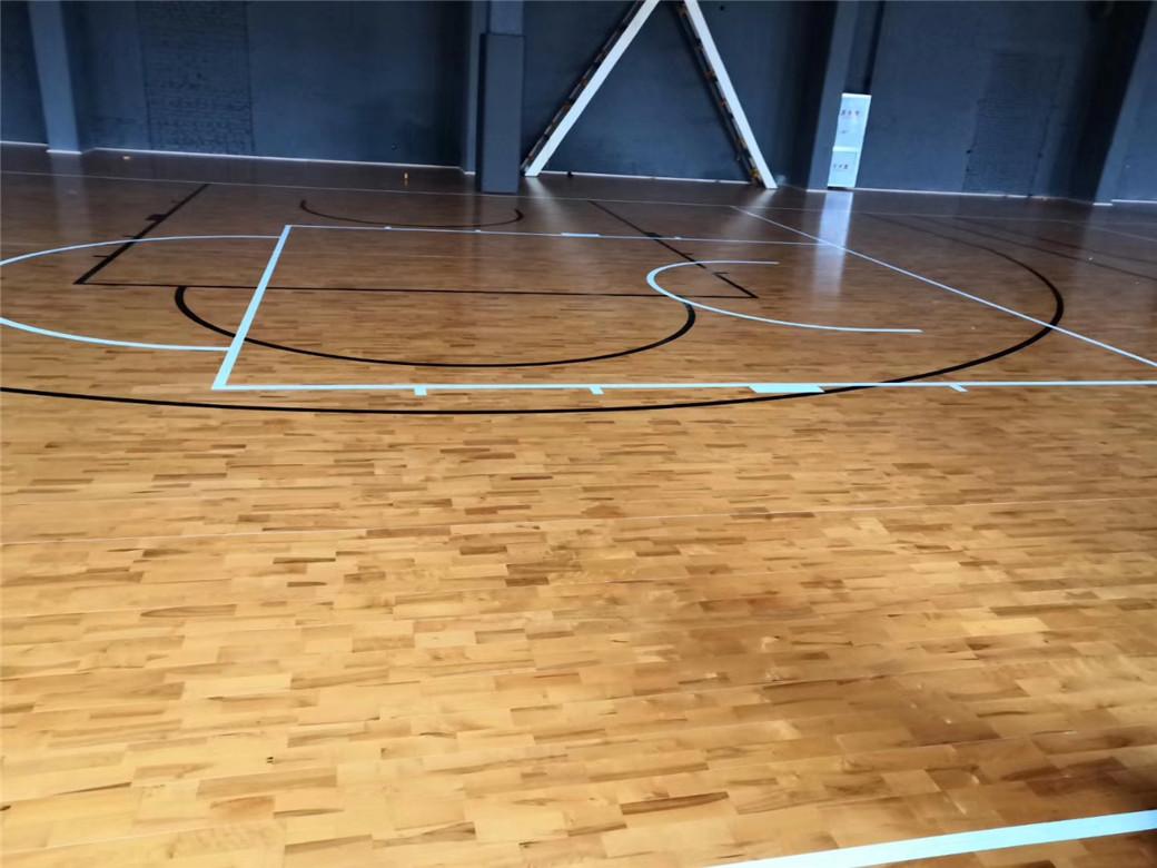 来宾篮球馆木地板