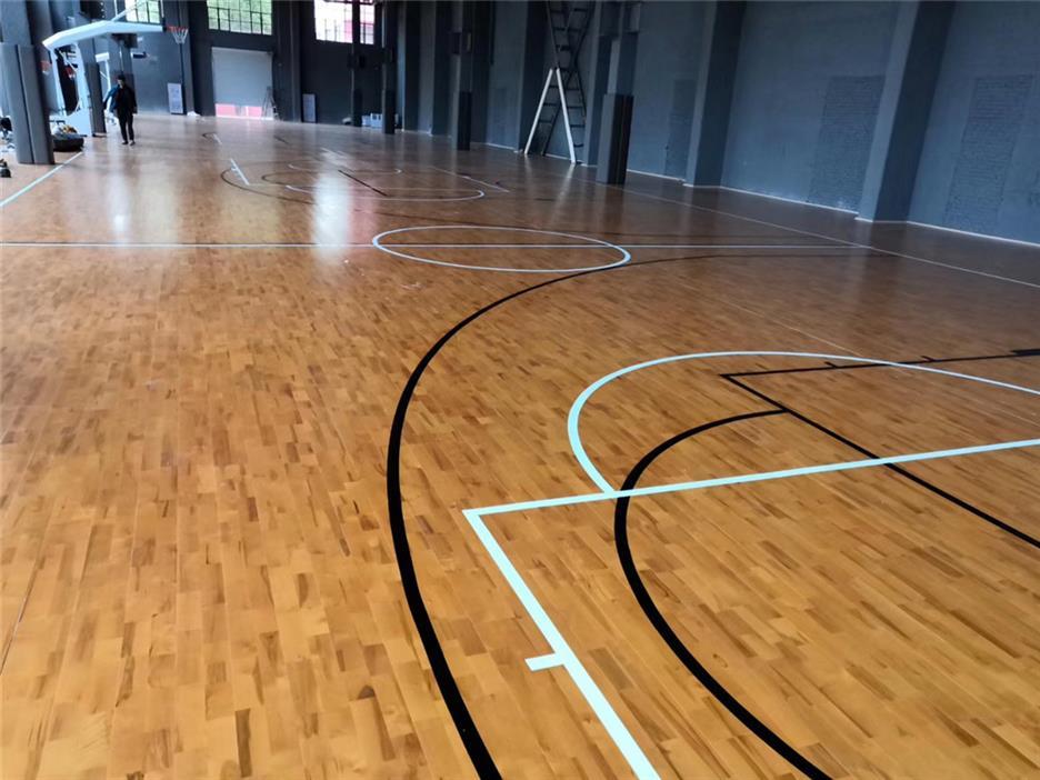 遂宁篮球馆木地板
