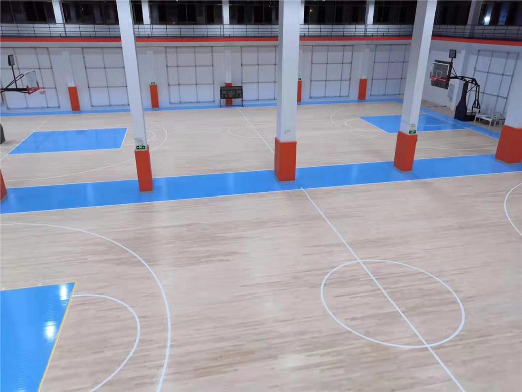 阿里实木体育地板规格