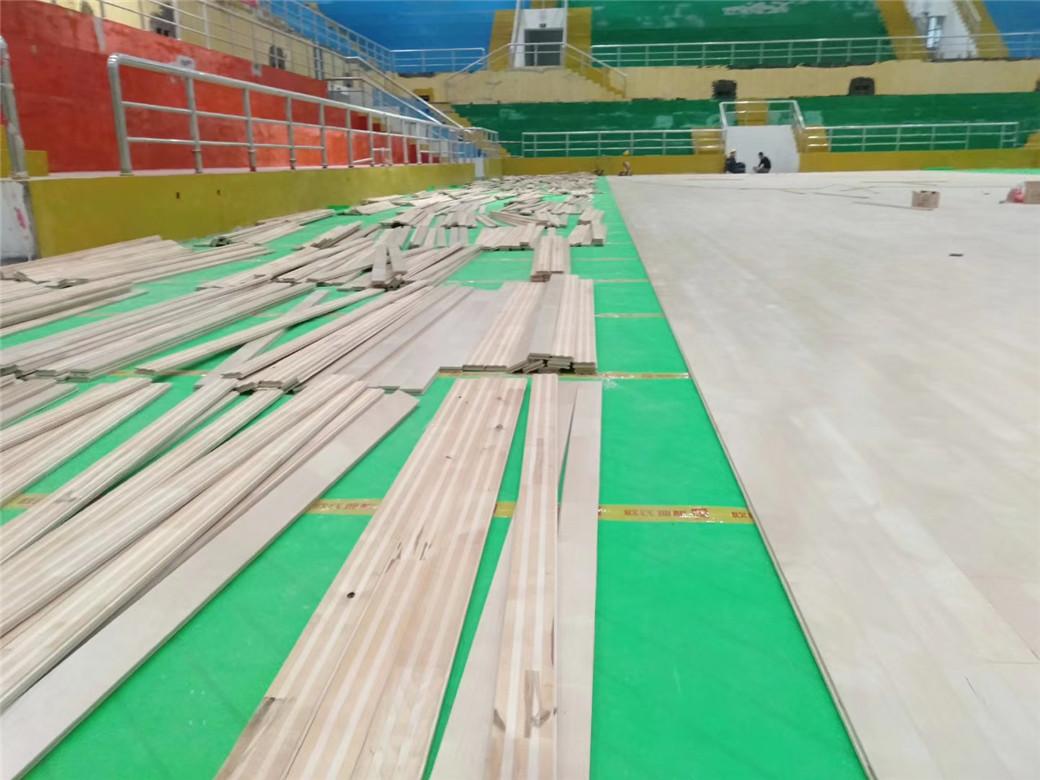 上海实木体育地板