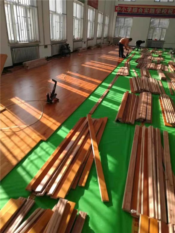 湘潭实木体育地板