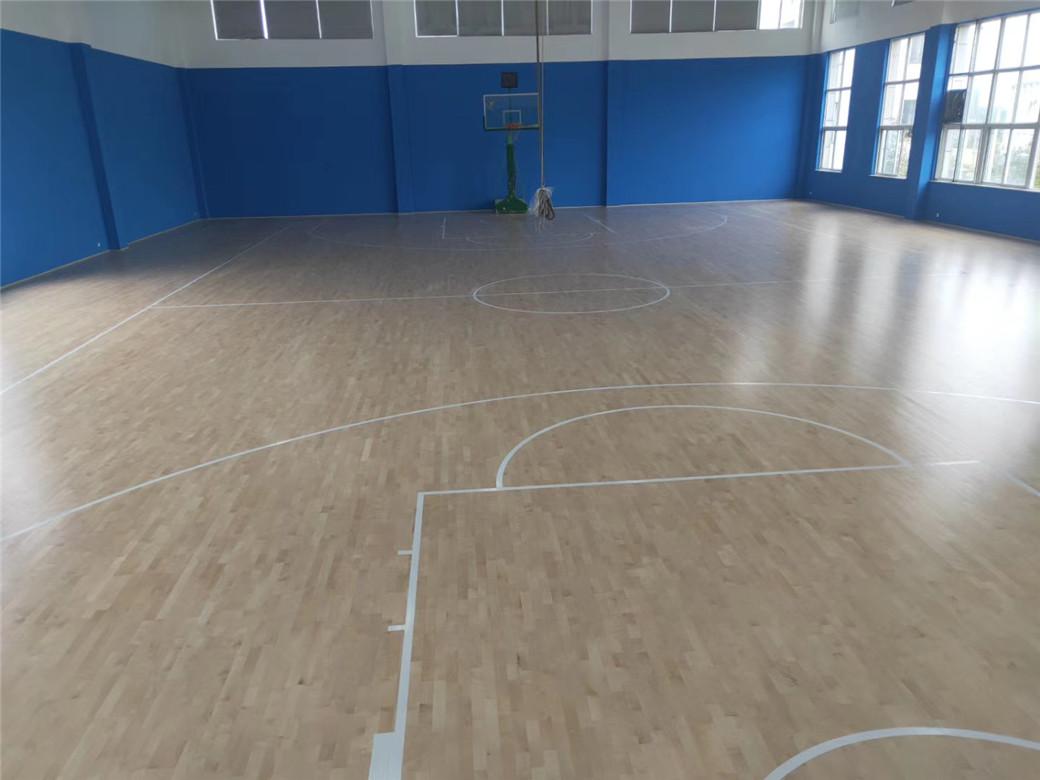 济南实木体育地板