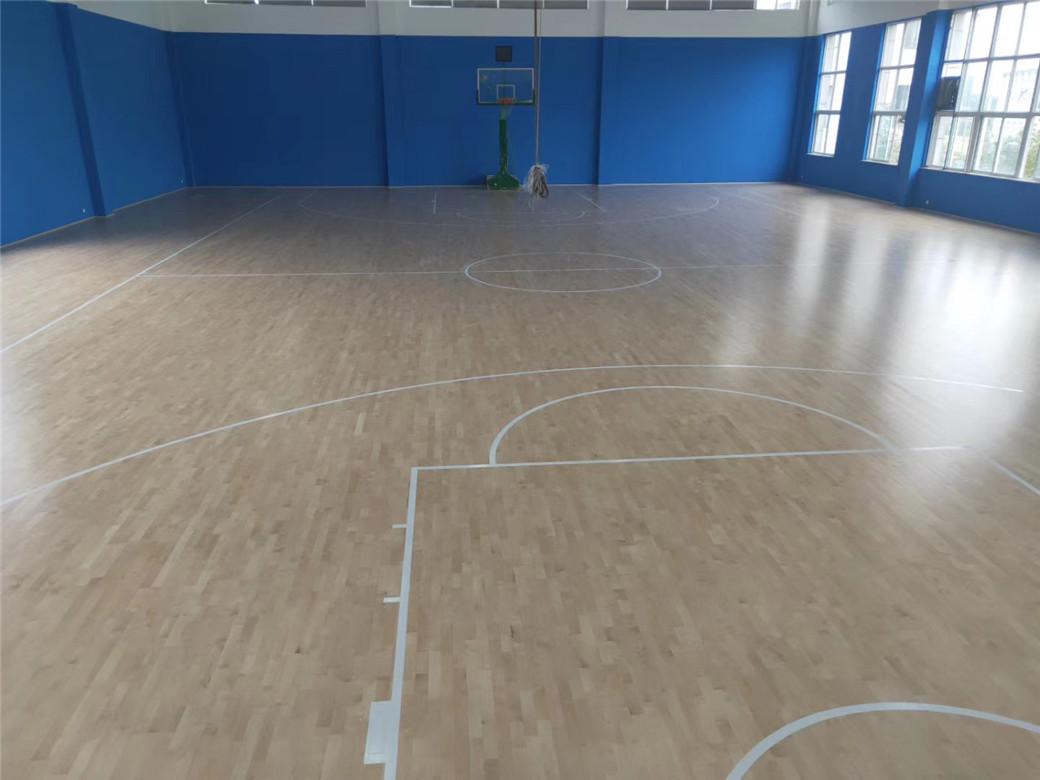 学校实木体育地板