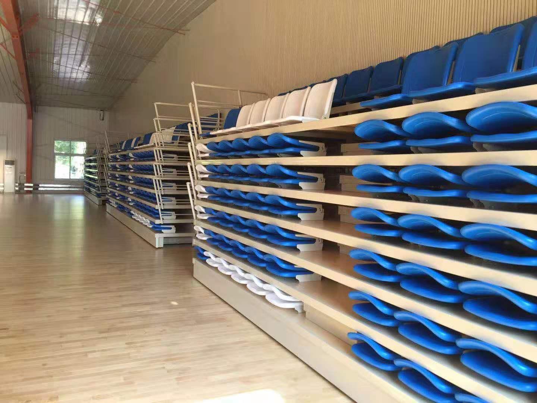 C级运动木地板安装