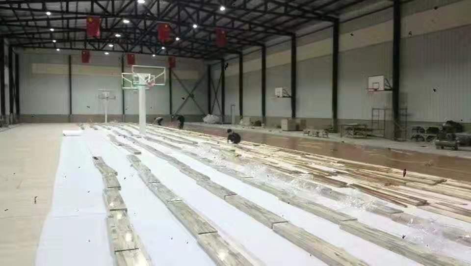 C级运动木地板安装报价