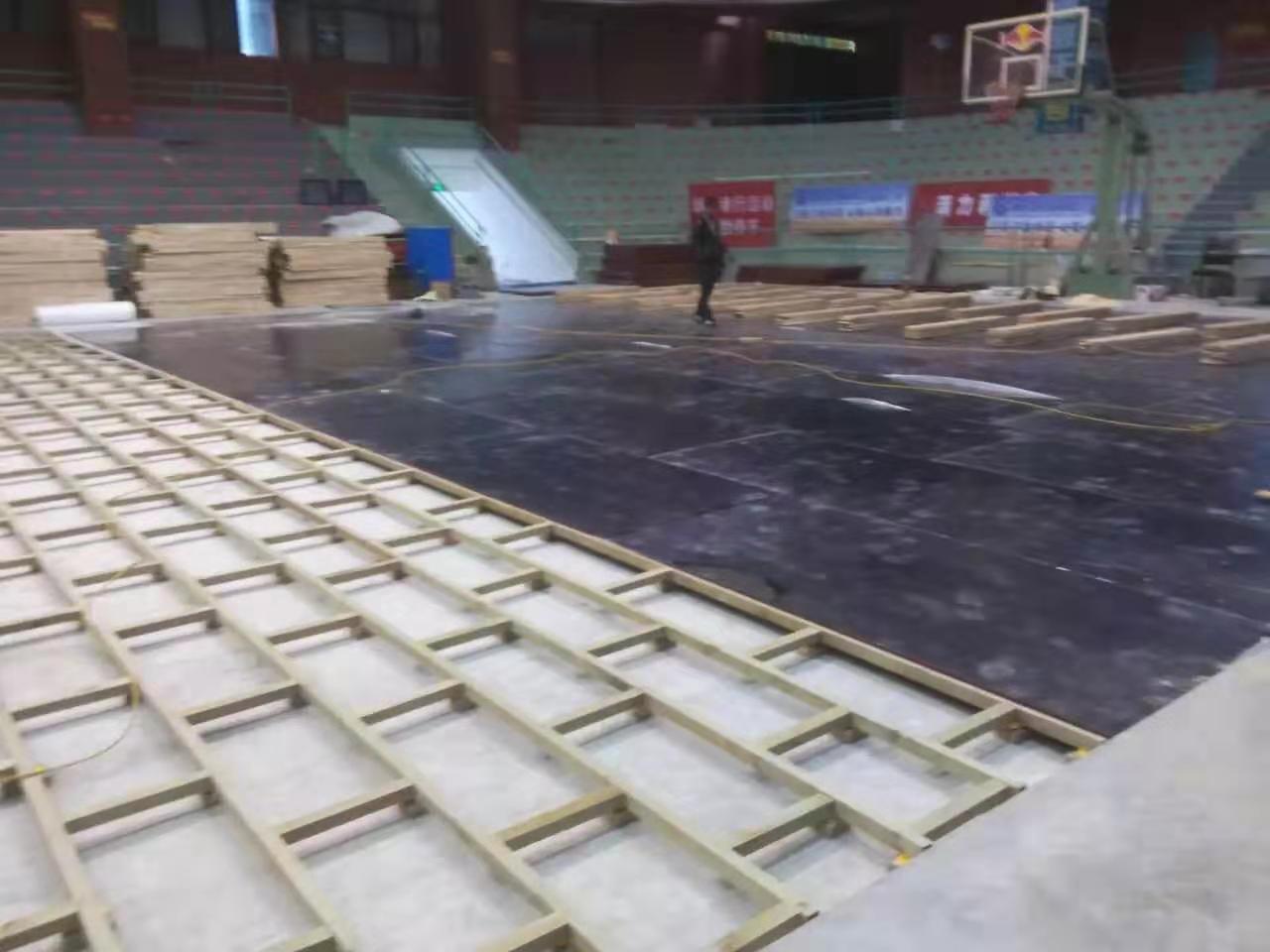 加枫运动木地板安装规格