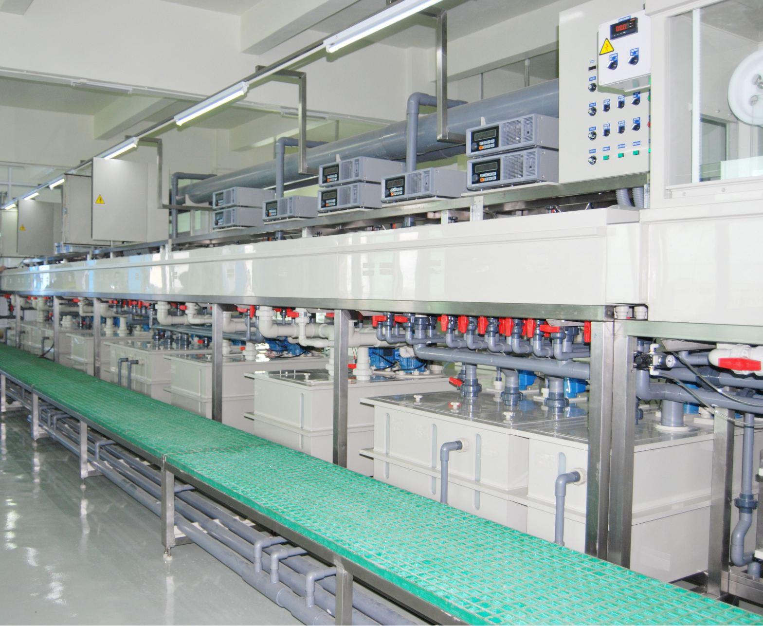 全自动连接器卷对卷连续电镀设备