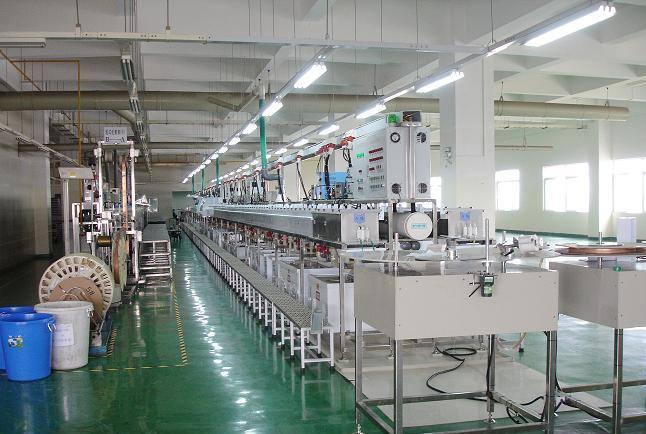 全自动卷对卷连续电镀生产线