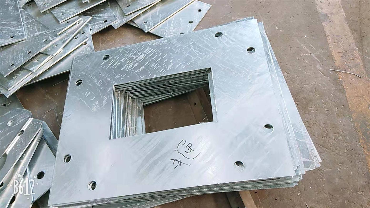 南京预埋锚板接触网钢板拉线锚板规格