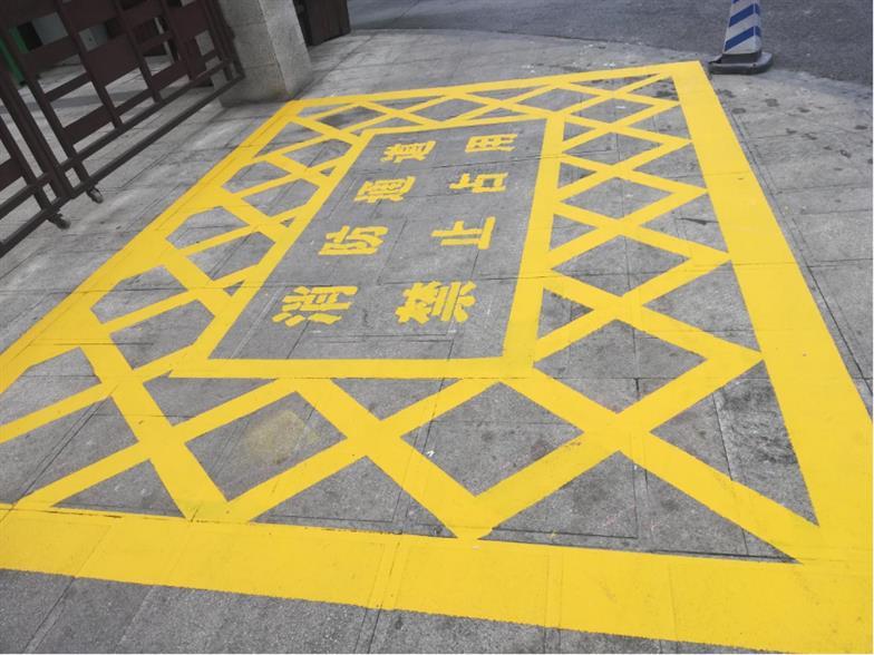 武汉学校消防通道划线施工队伍