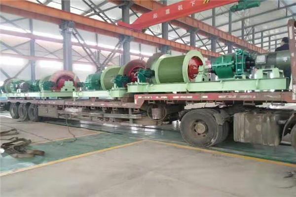 萍乡立井1.6米绞车设备质的飞跃