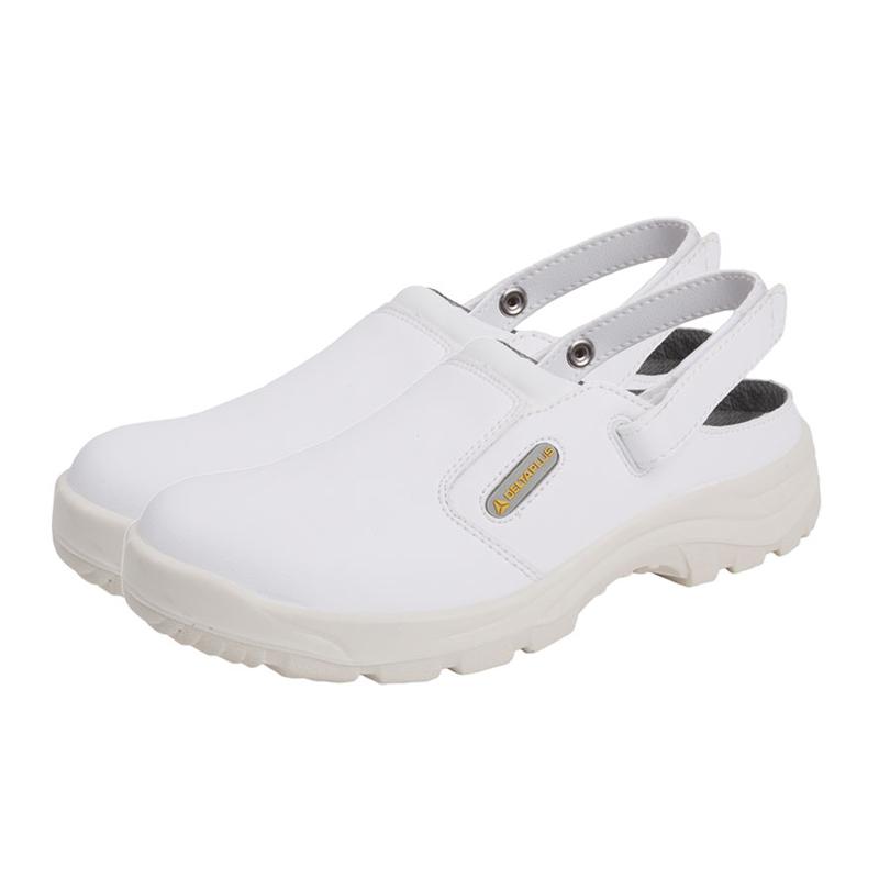 大连代尔塔301509全牛皮安全鞋材质