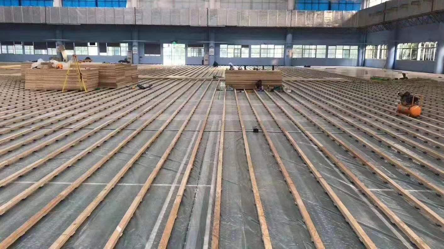 广州学校篮球运动木地板