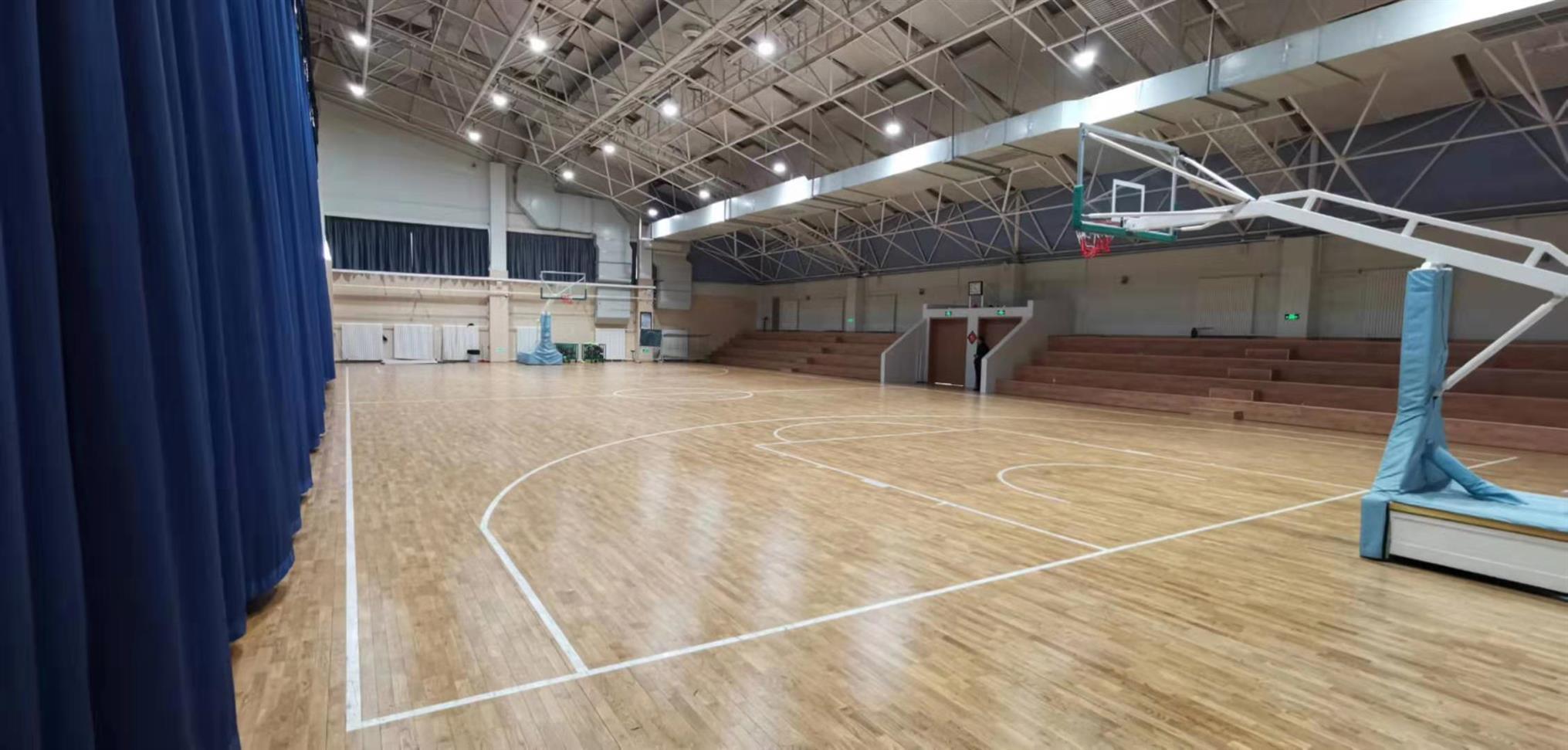 漯河篮球运动木地板