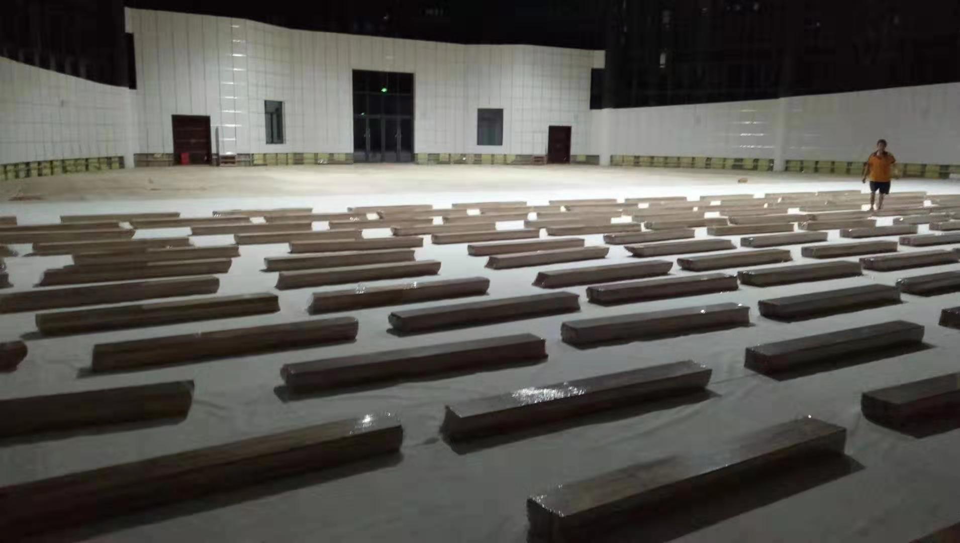 铜陵篮球运动木地板划线