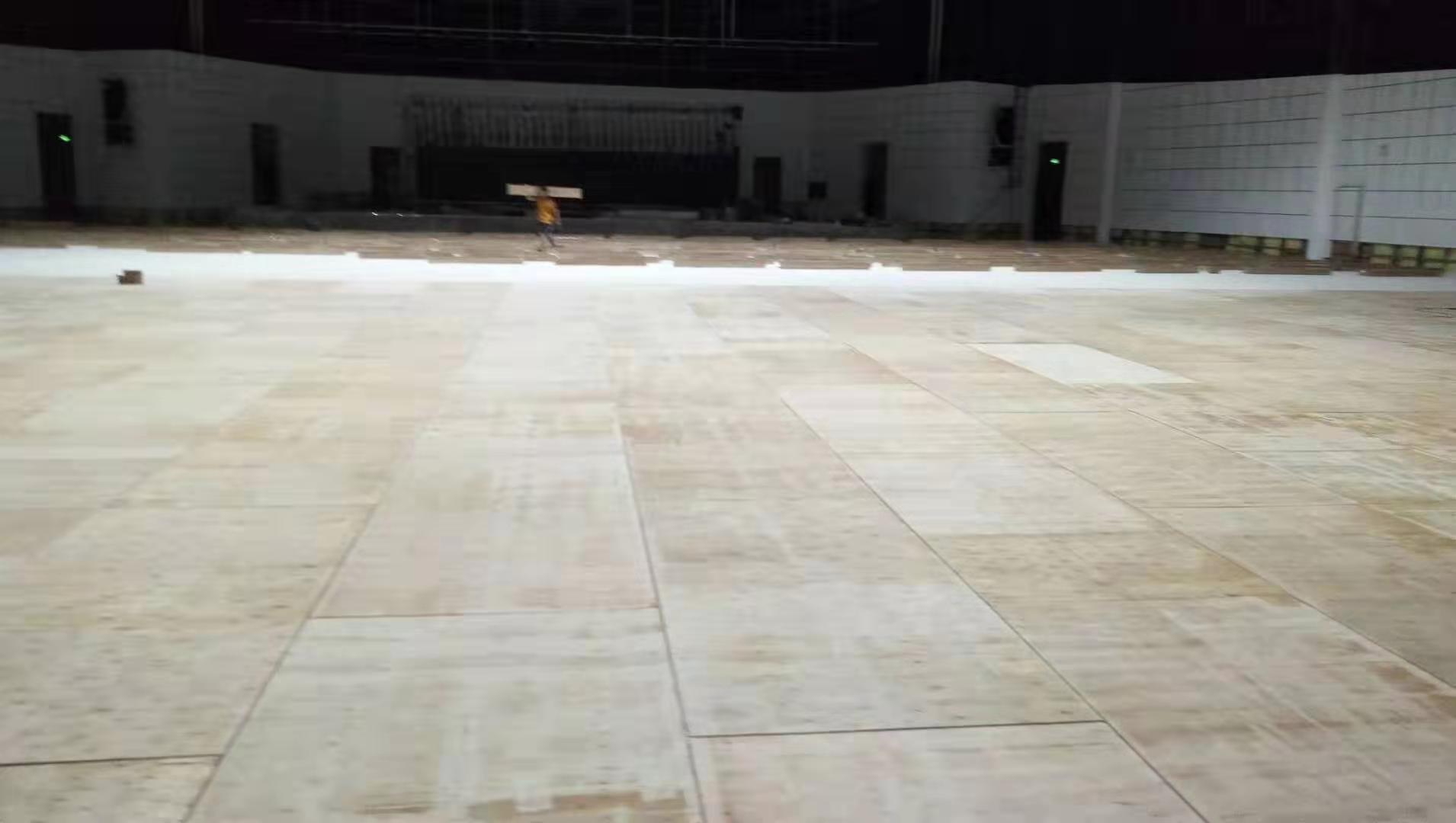 巴中篮球运动木地板定制