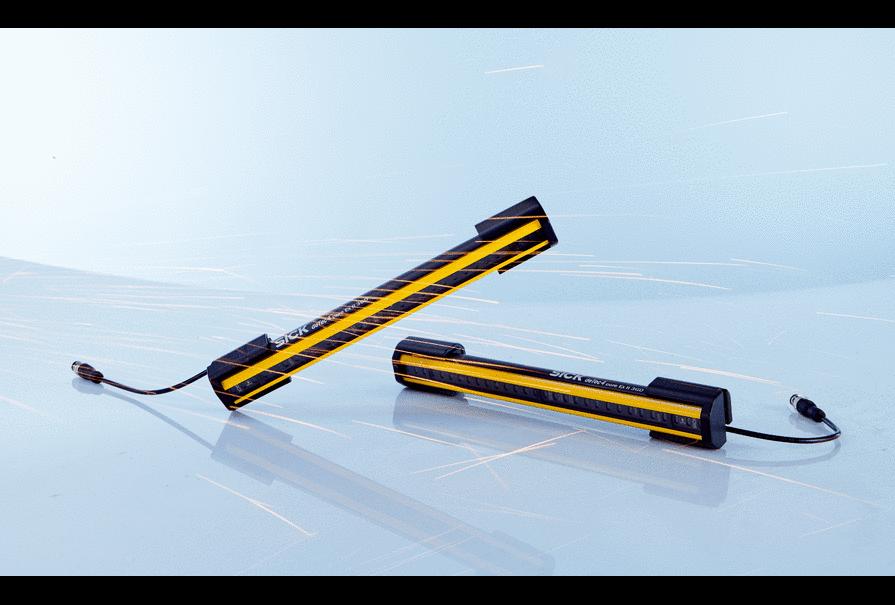 煙臺西克一級代理安全光幕 安全繼電器 安全光柵