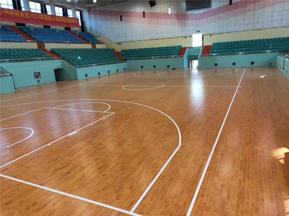 安康活动中心木地板定制