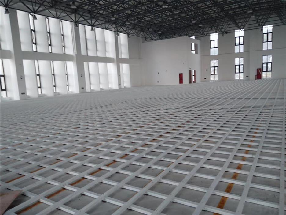 定安县活动中心木地板施工