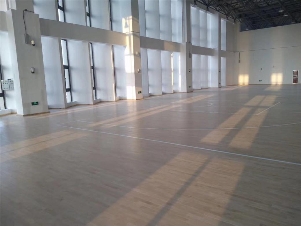 郑州活动中心木地板定制