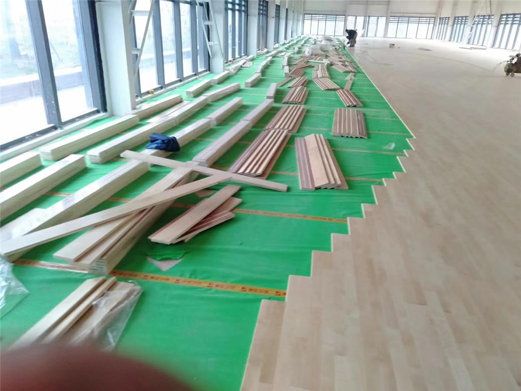 滨州活动中心木地板