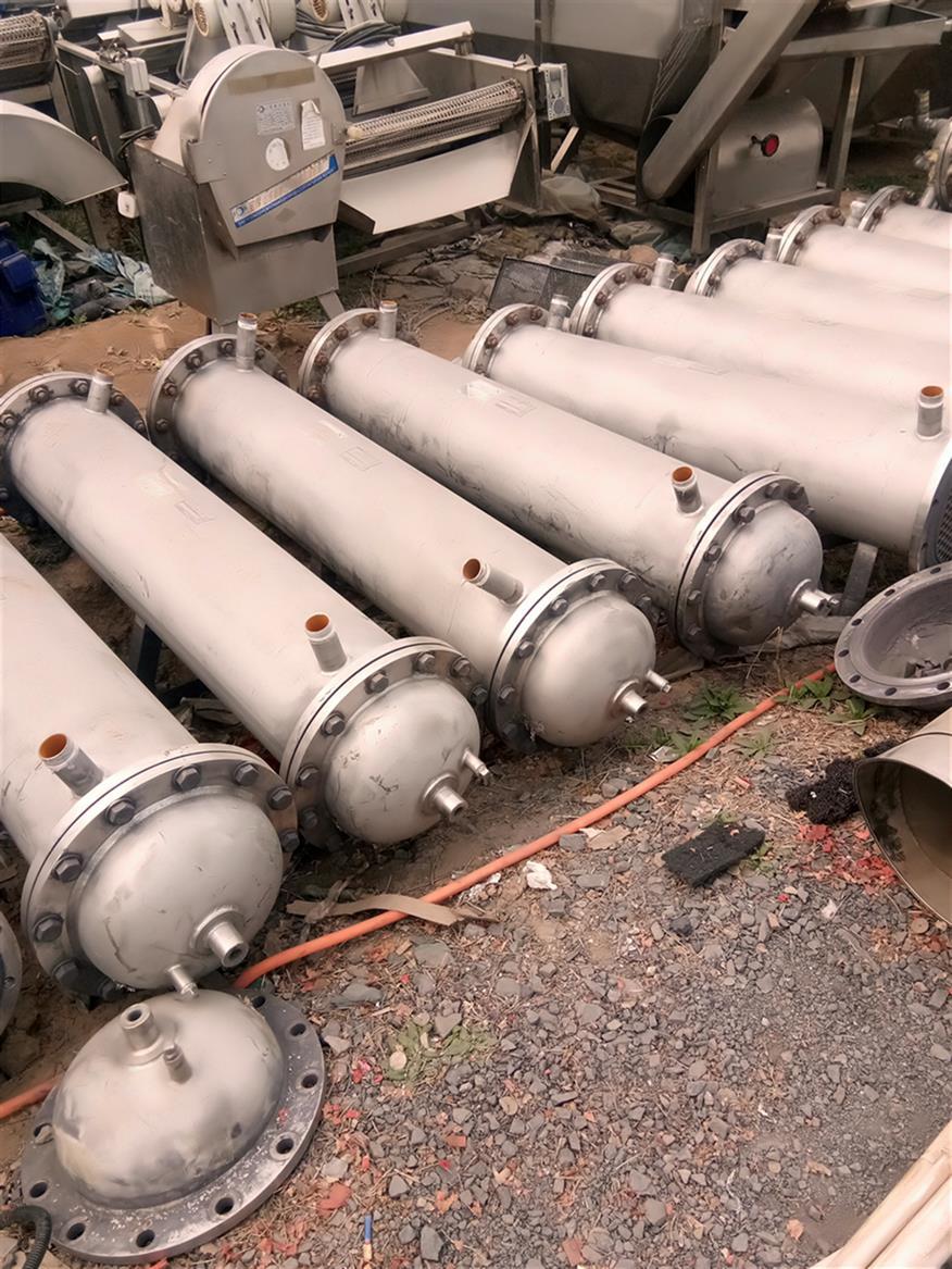 泰州二手碳钢冷凝器报价