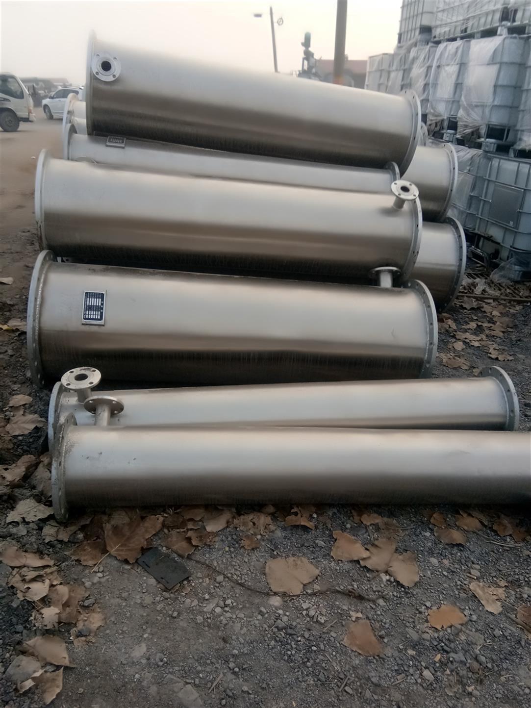 宁波出售二手不锈钢冷凝器