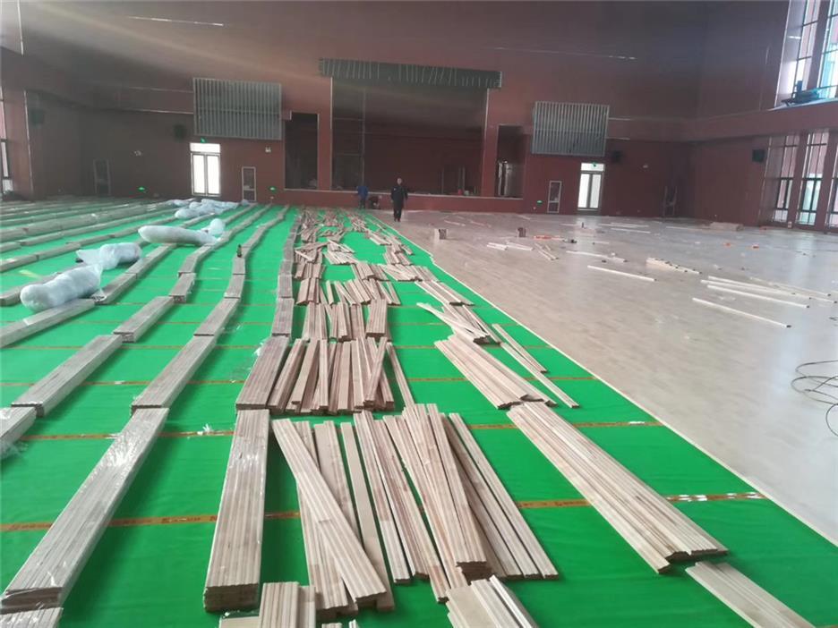 佛山实木体育地板规格