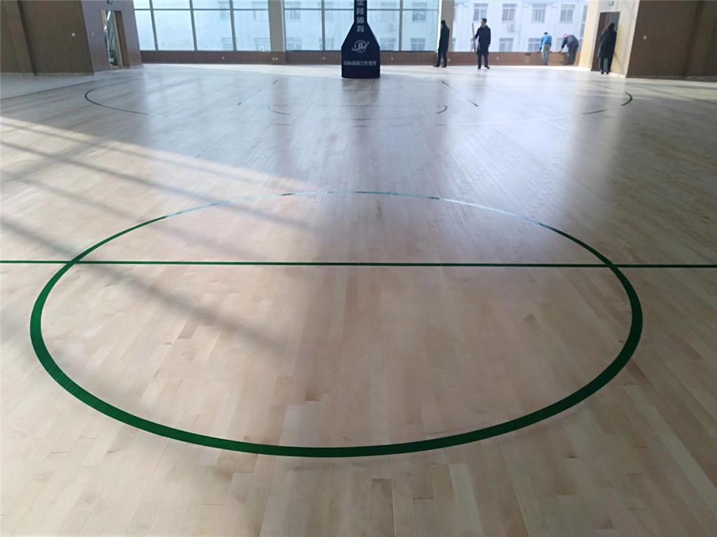 漳州实木体育地板定制
